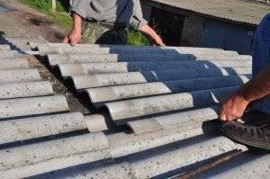 Ремонт шифера на крыше своими руками — фото, видео инструкция