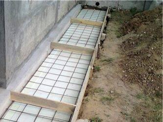 Ремонт бетонной отмостки - своими руками