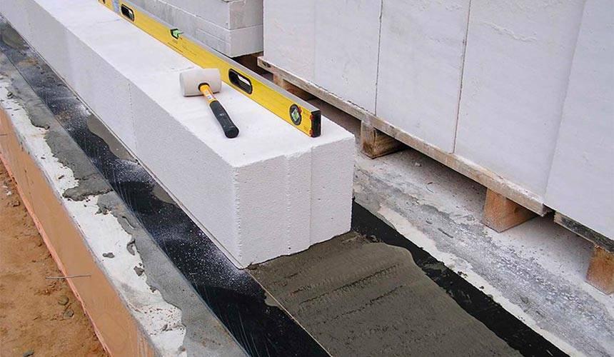 Кладка газосиликатных блоков: своими руками пошаговая инструкция