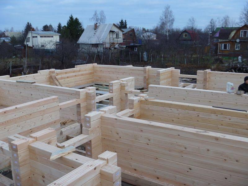 Производство домокомплектов из профилированного бруса - о нюансах в строительных работах