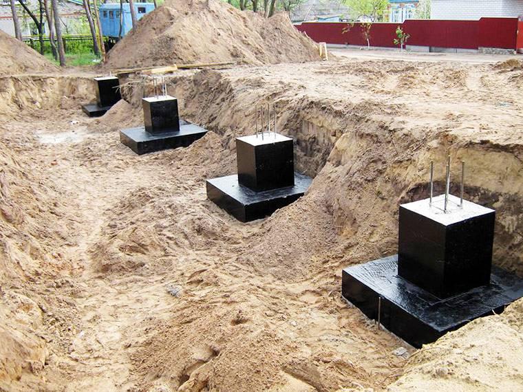 Ошибки гидроизоляции фундамента (гидроизоляции подвала)