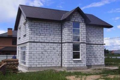 Как построить дом из газоблока?