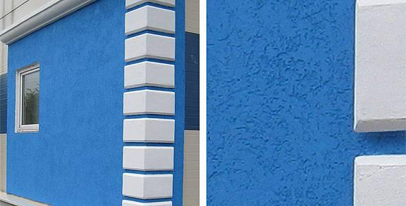 Фасадная штукатурка: виды и характеристики
