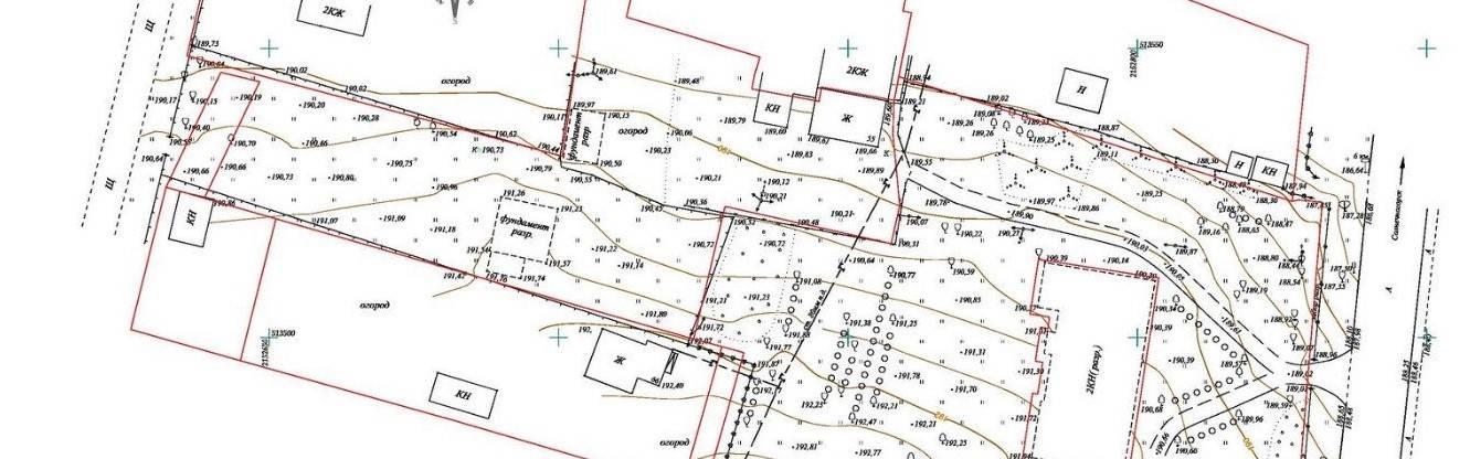 Виды съемки земельного участка: геодезическая, кадастровая, исполнительная, тахеометрическая и их описание