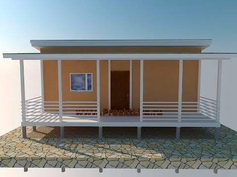 Односкатная крыша - фото домов с односкатной крышей - 65 идей для строительства