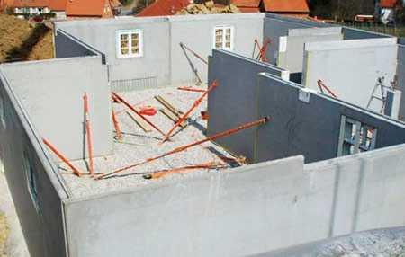 Загородные дома из железобетонных панелей: особенности, плюсы и минусы технологии, способы оформления и цены на строительство