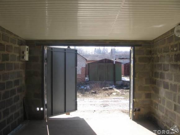 Постройка гаража из шлакоблоков своими руками