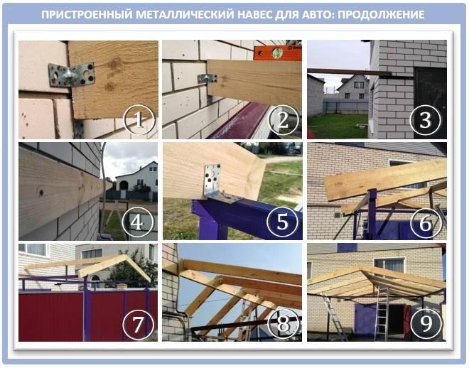 Пристройка веранды с трехскатной крышей