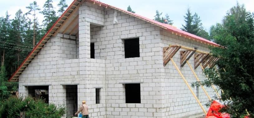 Строительство дома из газоблока своими руками - всё о строительстве