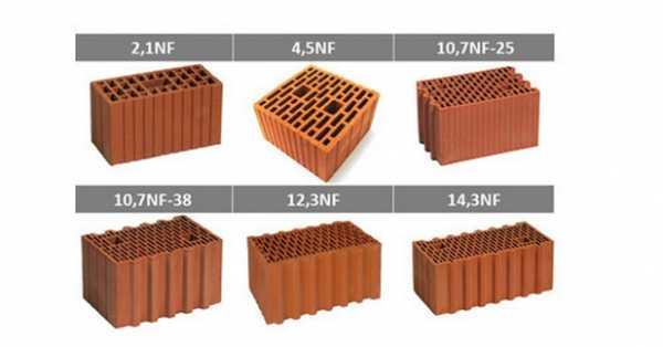 Керамические блоки в россии: обзор заводов-производителей