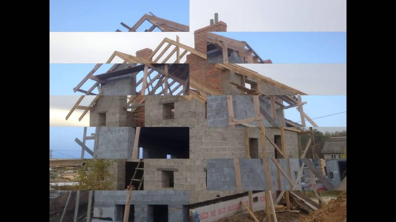 Цокольный этаж из блоков фбс: этапы строительства