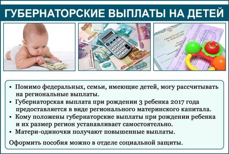 Ежемесячное пособие на 3 ребенка в 2019 году: какие документы нужны для выплаты пособия до 3 лет и прочие нюансы оформления