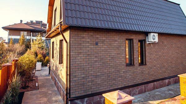 Полимерпесчаные панели для фасада для отделки домов