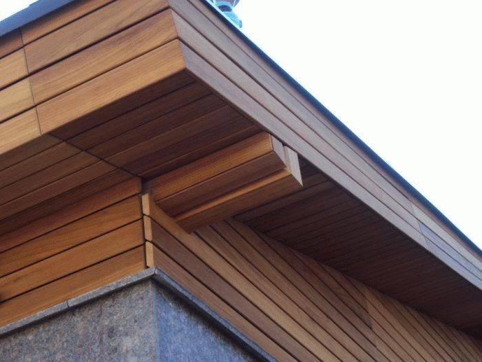 Подшивка свесов крыши: выбор материалов, основные методы и этапы работ, фото и видео