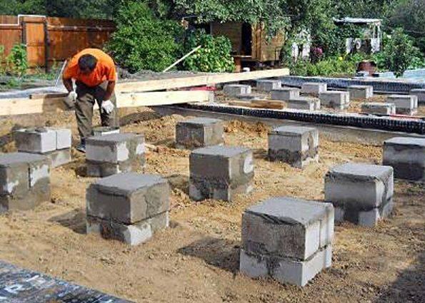 Фундамент из блоков фбс: плюсы и минусы строительства