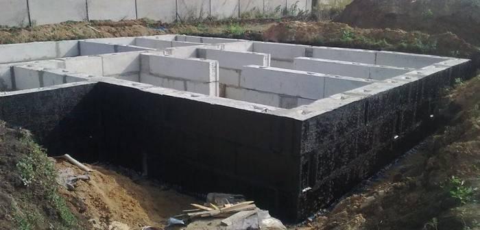 Дом на блоках без углубления. столбчатый фундамент из блоков - простой и быстрый вариант устройства основания для дома
