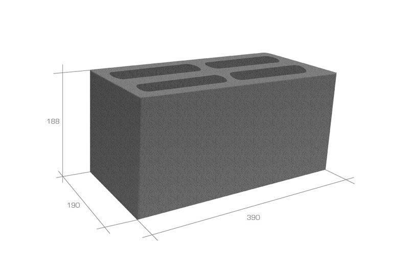 Расчет керамзитобетонных блоков: сколько их в поддоне и кубе (в 1 м3)? сколько штук в 1 м2? расчет для кладки стен дома