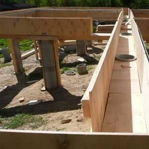 Фундамент на забивных сваях для частного дома | свой дом