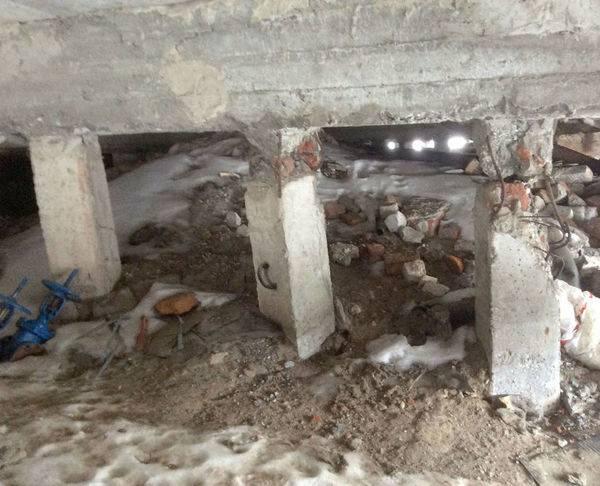 Усиление свайного фундамента при реконструкции