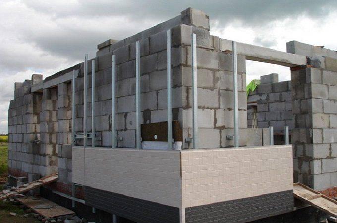 Утепление стен из газосиликатных блоков снаружи минеральной (каменной) ватой