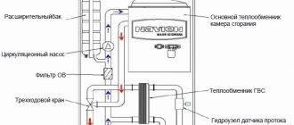 Определение неисправностей трехходового крана в настенном газовом котле navien