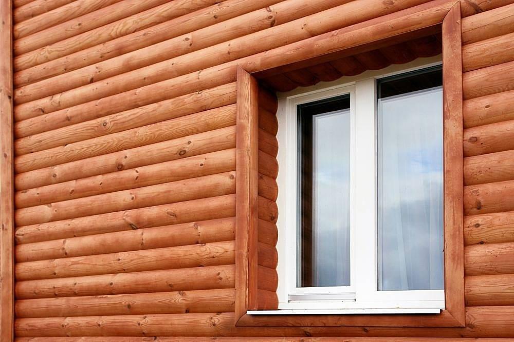 Сайдинг «блок-хаус» виниловый (34 фото): пластиковый под бревно или дерево из пвх, цвета и отзывы