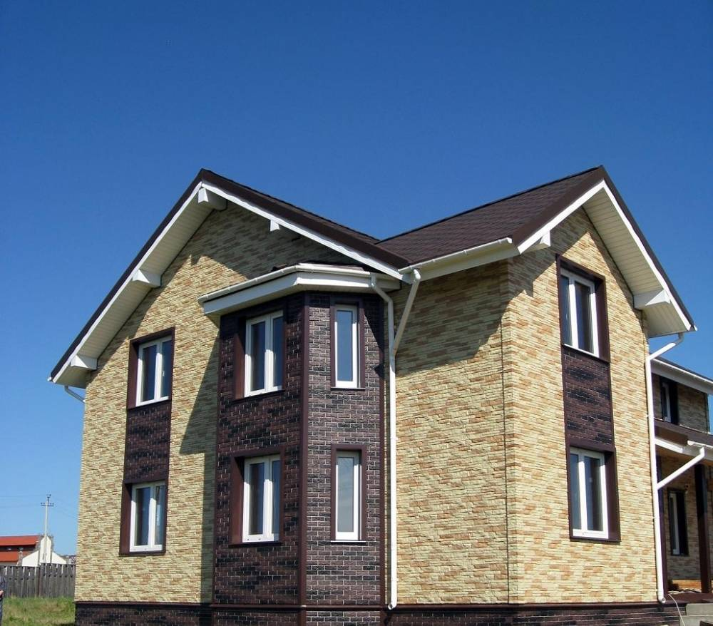 Фасадные панели пвх: виды облицовки для фасада дома (под кирпич, камень и т.д) + технология монтажа