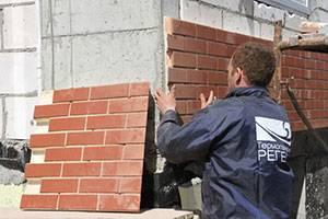 Отделка фасада клинкерной плиткой: характеристики материала и технология монтажа