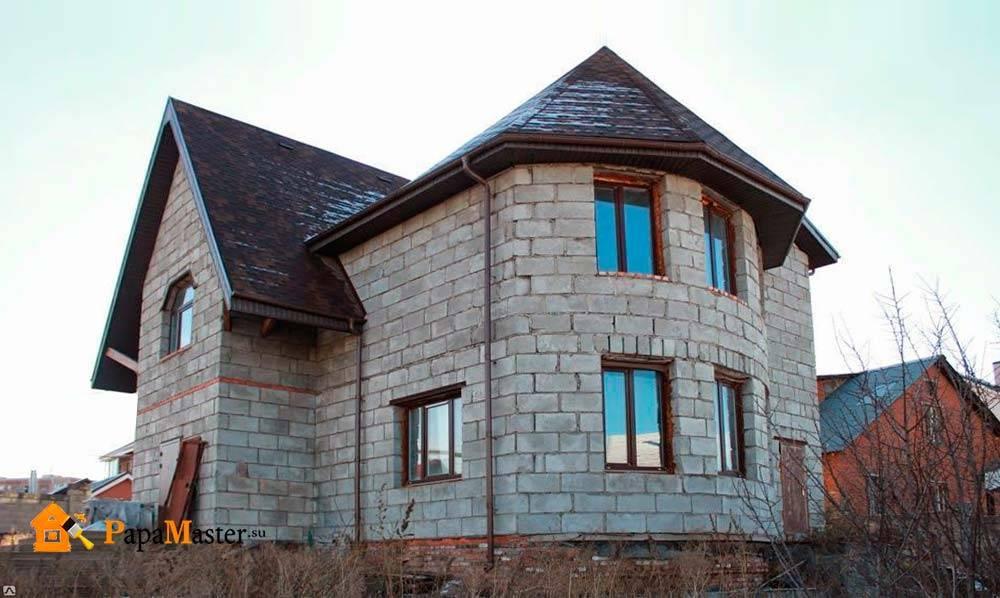 Дом из шлакоблока, плюсы и минусы такого строения! | папа мастер!