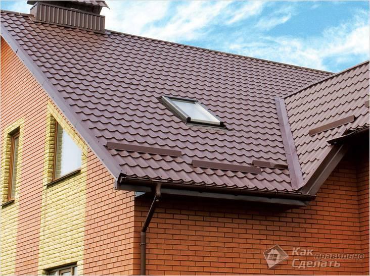 Снегозадержатели на крышу из профлиста – функции, виды, монтаж