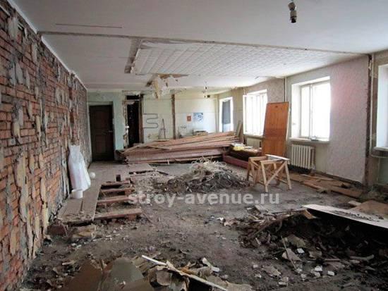 Демонтаж стен и межкомнатных перегородок — пошаговое руководство - myremontdom.ru - медиаплатформа миртесен