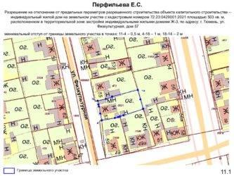 Предельные размеры земельных участков