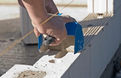 Перегородки из газобетонных блоков своими руками: пошаговая инструкция