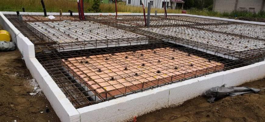 Фундамент ушп: технология строительства