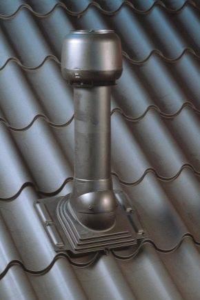 Вентиляция подкровельного пространства металлочерепицы - кровля и крыша