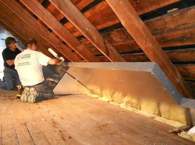 Как утеплить крышу мансарды: схемы, материалы, рекомендации