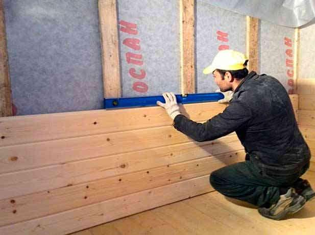 Как крепить имитацию бруса внутри дома: монтаж и обшивка внутренней поверхности стен своими руками + фото — remont-om