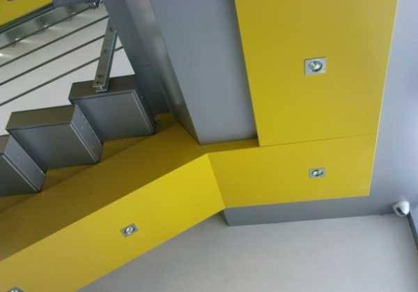Фасадные алюминиевые панели