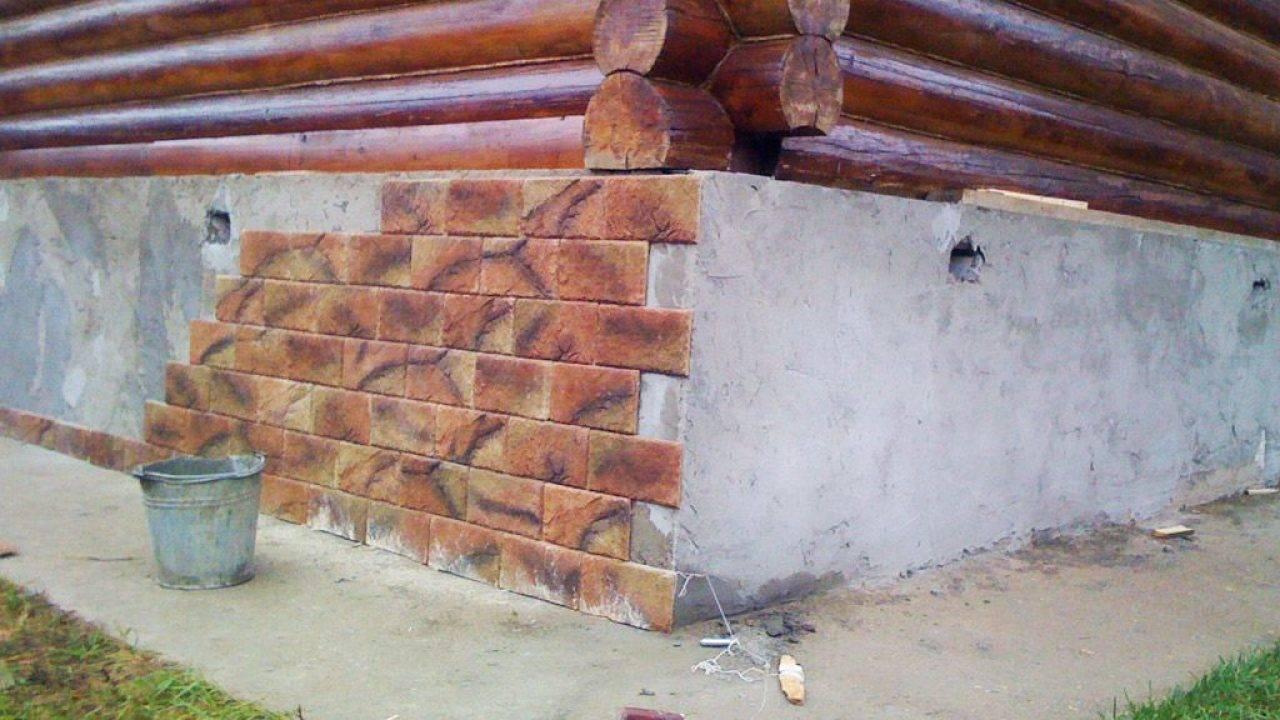 Можно ли дом из бруса обложить кирпичом: облицовка стен и толщина