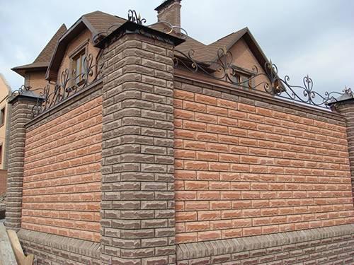 Кладка облицовочного кирпича своими руками: технология отделки и облицовки фасада частного дома + укладка фундамента и фото