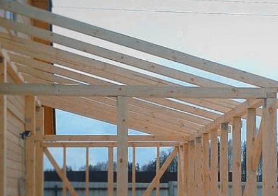Пристройка к деревянному дому — пошаговое строительство