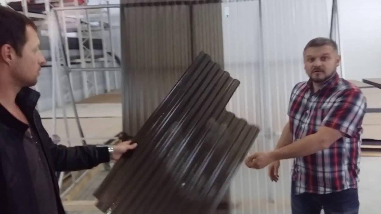 Пластиковый шифер: технические характеристики и особенности материала
