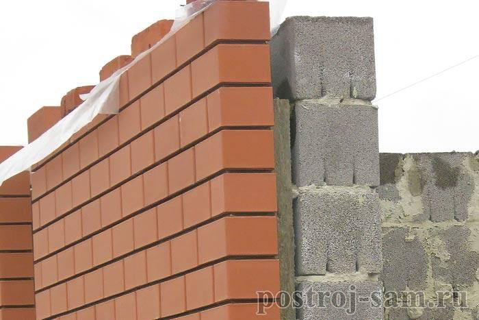 Кладка керамзитобетонных блоков: виды и инструкция