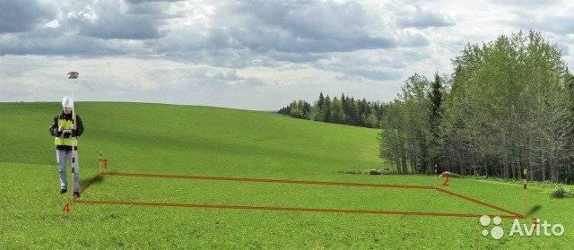 Что такое вынос границ земельного участка в натуру