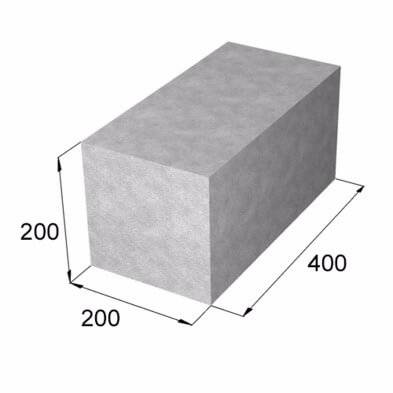 Сколько составляет цена на бетонные блоки?
