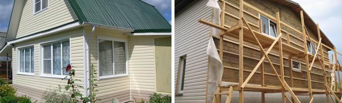 Как отделать сайдингом деревянный дом своими руками