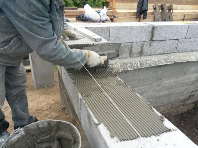 Баня из шлакоблока своими руками, этапы возведения и тонкости постройки