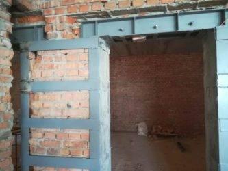 Устройство проёма в кирпичной стене: процесс и важные детали   папа мастер!