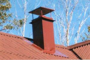 Как сделать герметизацию трубы на крыше из профнастила