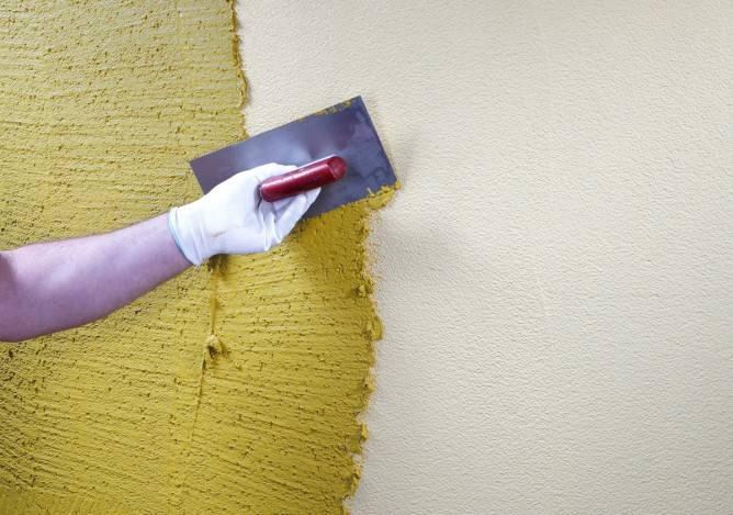 Фасадная штукатурка для наружных работ − преимущества и разновидности материала